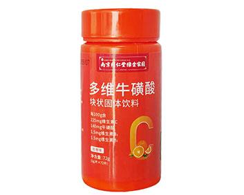 多维牛磺酸块状固体饮料72g