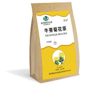 牛蒡菊花茶