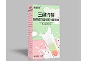 三色代餐抹茶�t豆益生菌代餐奶昔
