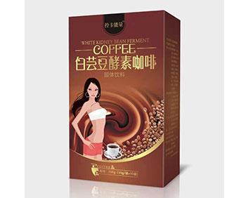 白�|豆酵素咖啡.