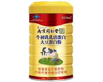 牛初乳乳清蛋白大豆蛋白粉(��食健字)