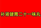 �a�I健胃二十一味丸(���)