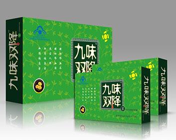 九味�p降素�z囊大盒72粒�b