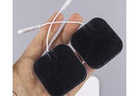 水凝胶导电贴 山东辰星铝箔片铜扣电极贴贴敷部位