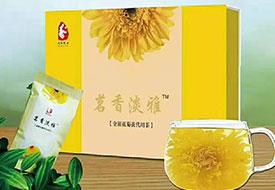 茗香淡雅金银花菊花代用茶
